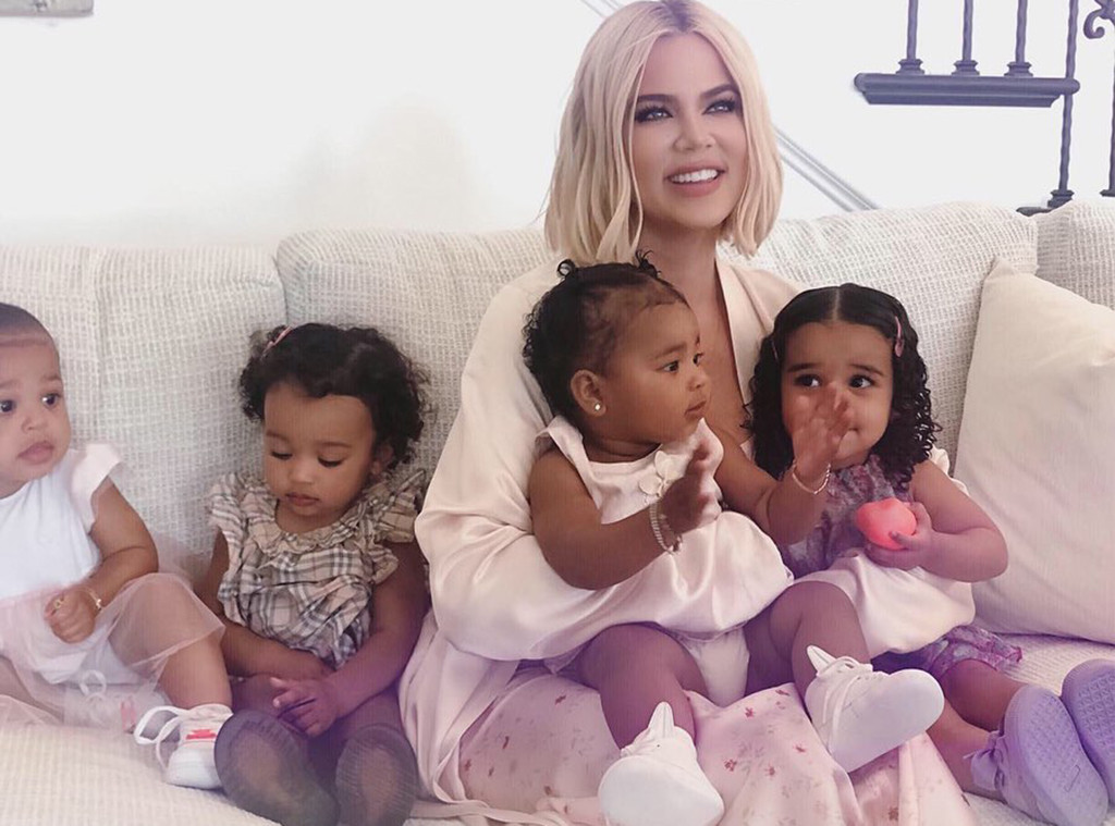 Khloe Kardashian, True Thompson, Stormi Webster, Chicago West, Dream Kardashian