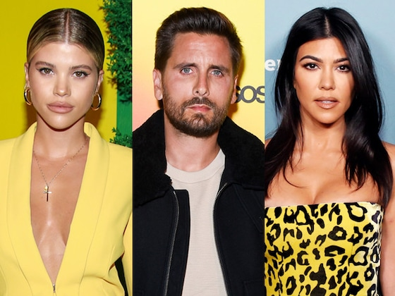 "Scott Disick Feels ""Really Awkward"" Ahead of Vacation With Both Kourtney Kardashian & Sofia Richie"