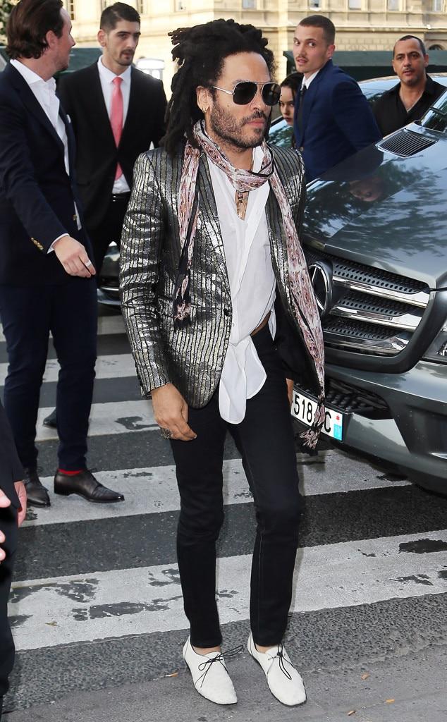 Lenny Kravitz From Zoe Kravitz Karl Glusman S Wedding