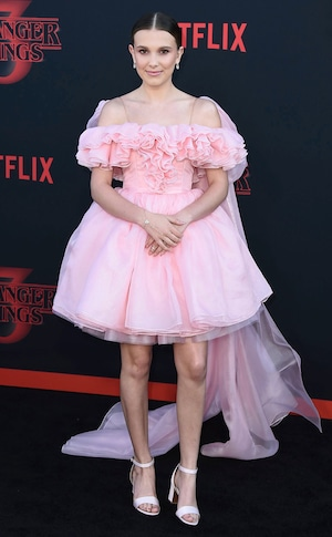 Millie Bobby Brown, Stranger Things Season 3 premiere