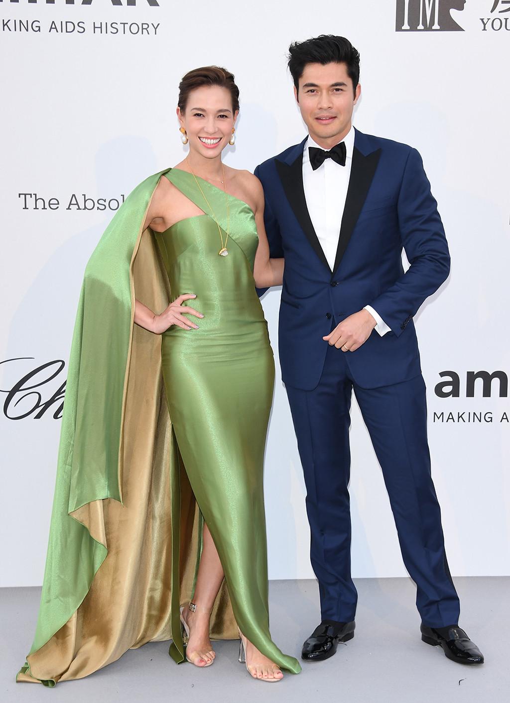 Liv Lo, Henry Golding, 2019 Cannes Film Festival