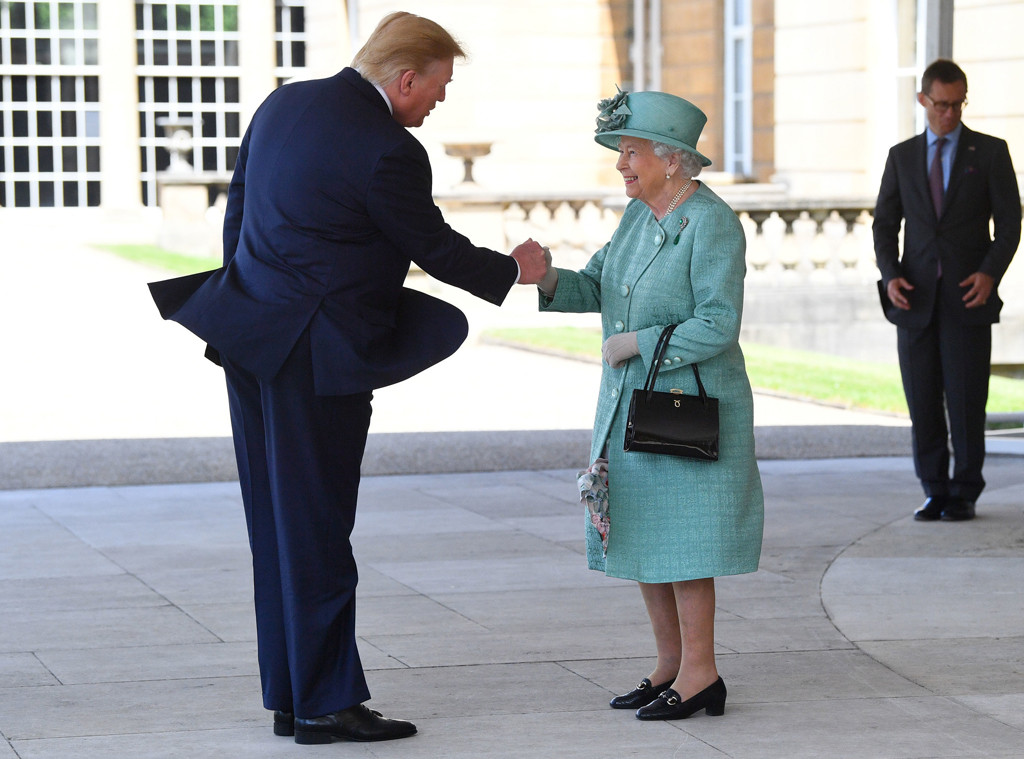 The Queen Gives Donald Trump The Royal Treatment During