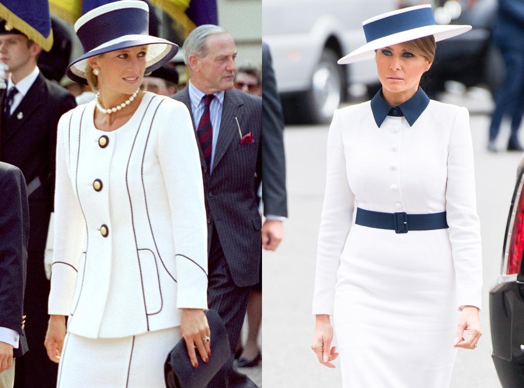 Melania Trump, Princess Diana