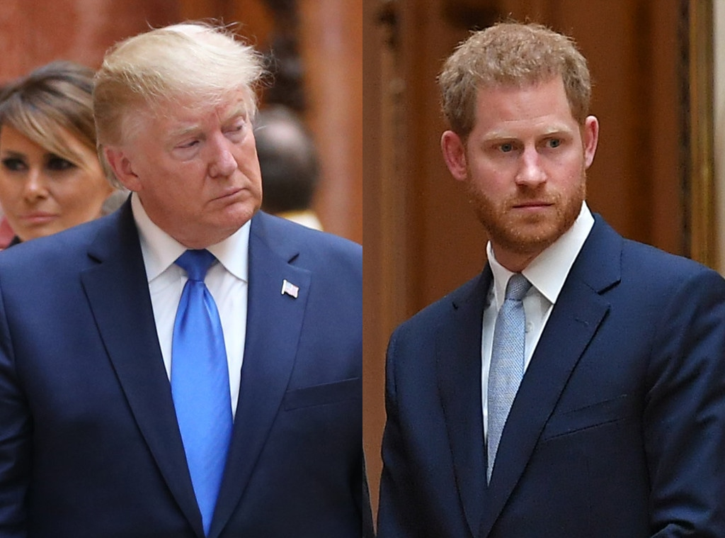 Prince Harry, Donald Trump