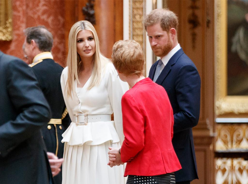 Prince Harry, Ivanka Trump