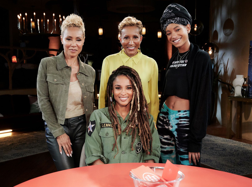 Ciara, Jada Pinkett Smith, Willow Smith, Red Table Talk, Adrienne Banfield Norris