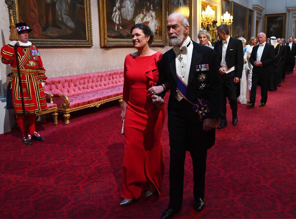 Sarah Huckabee Sanders, Prince Michael of Kent