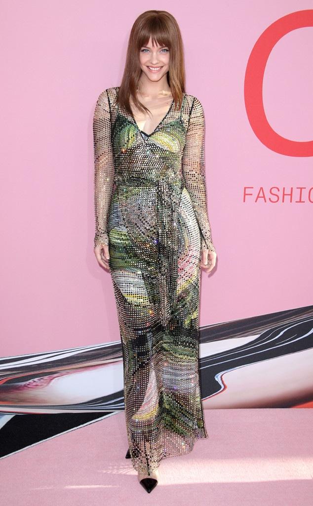 Barbara Palvin, 2019 CFDA Awards, Red Carpet Fashion
