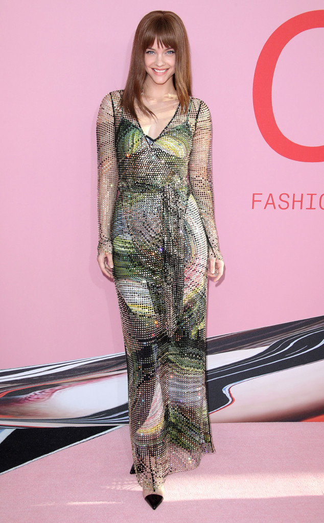 Barbara Palvin, 2019 CFDA Awards, Red Carpet Fashion