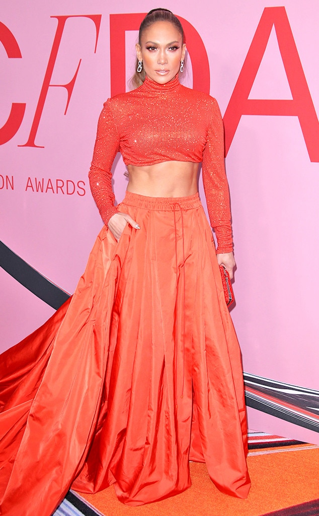 Jennifer Lopez, 2019 CFDA Awards, Red Carpet Fashion
