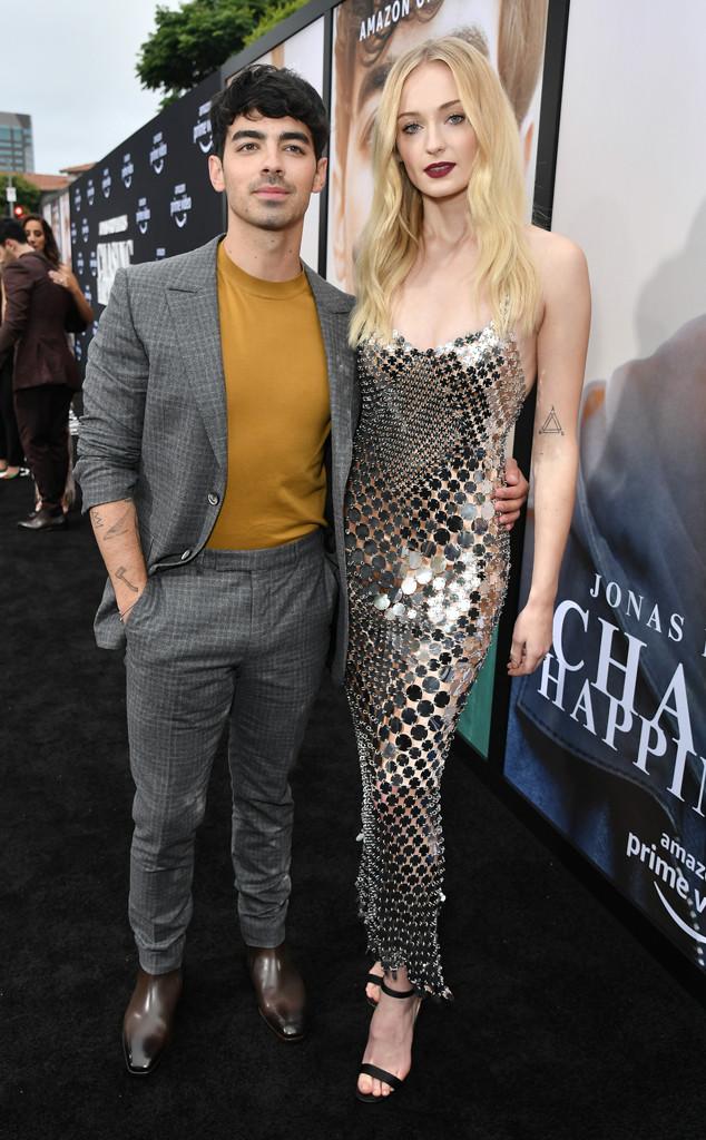Joe Jonas, Sophie Turner, 'Chasing Happiness' film premiere