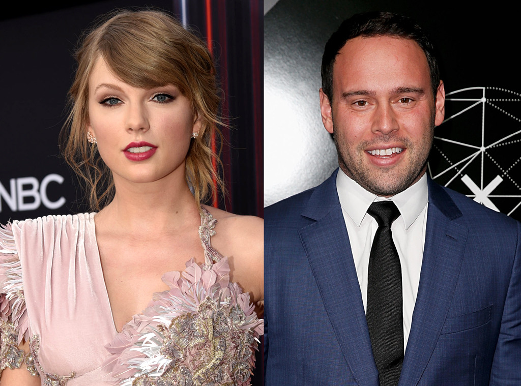 Taylor Swift, Scooter Braun