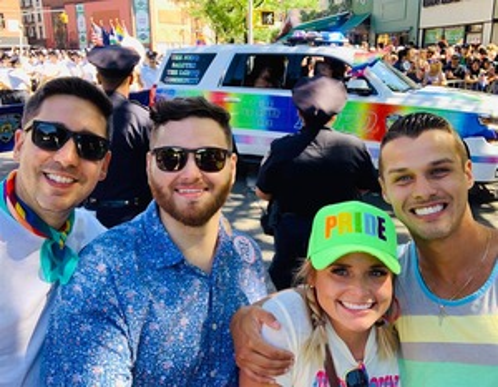 Miranda Lambert, Brendan McLoughlin, NYC LGBT Pride Parade 2019