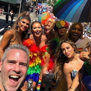 Andy Cohen, Real Housewives, Teresa Giudice, Melissa Gorga, NeNe Leakes, NYC Pride Parade