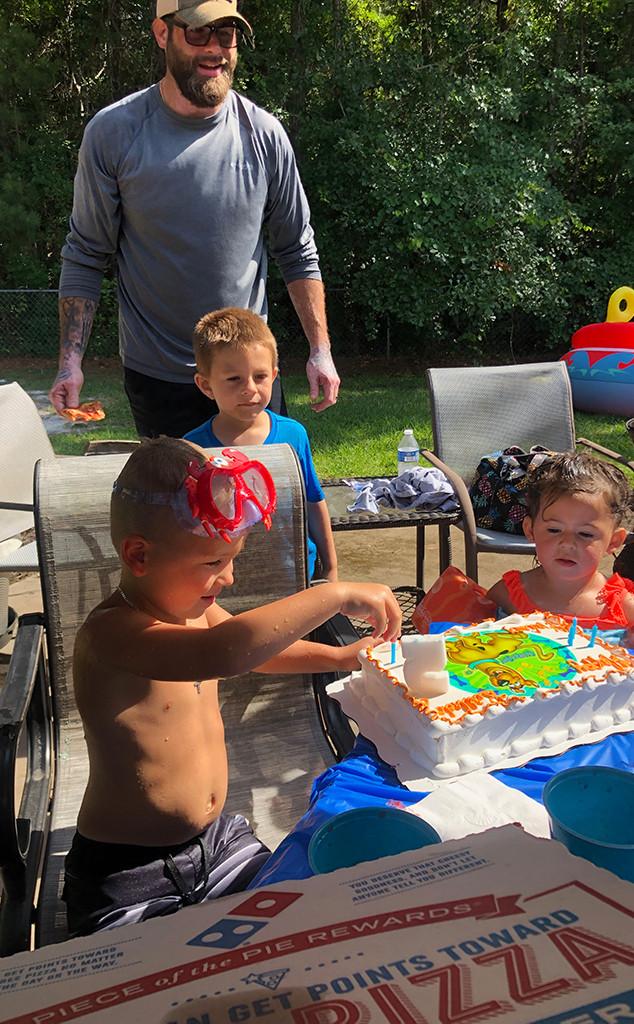 Jenelle Evans, David Eason, Son, Kaiser, Daughter, Ensley, Kids, Birthday Party