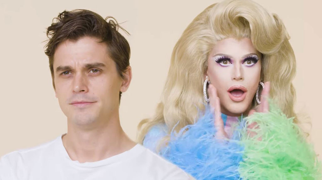 Queer Eye's Antoni Is Speechless After One Epic Drag Queen Makeover