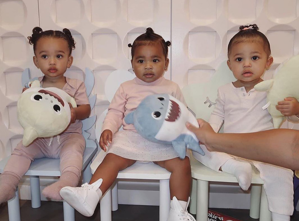 Stormi Webster, True Thompson, Chicago West