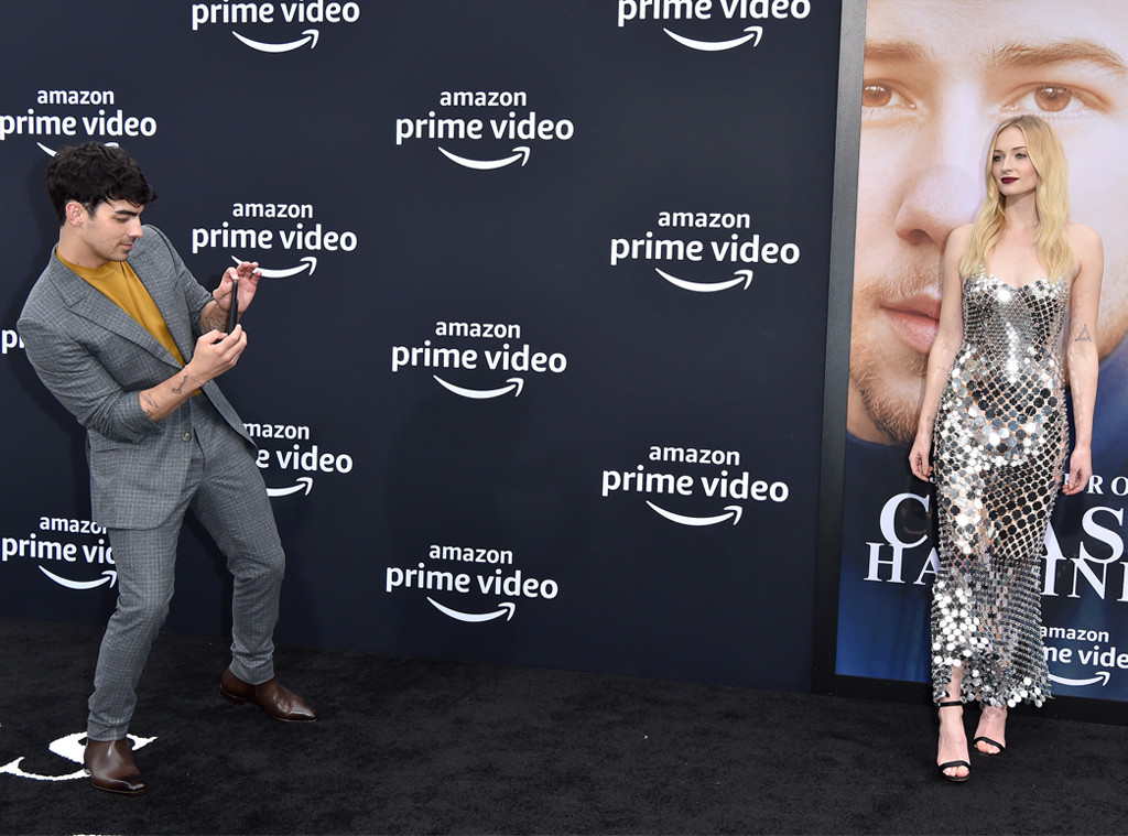 Joe Jonas, Sophie Turner, Chasing Happiness Premiere