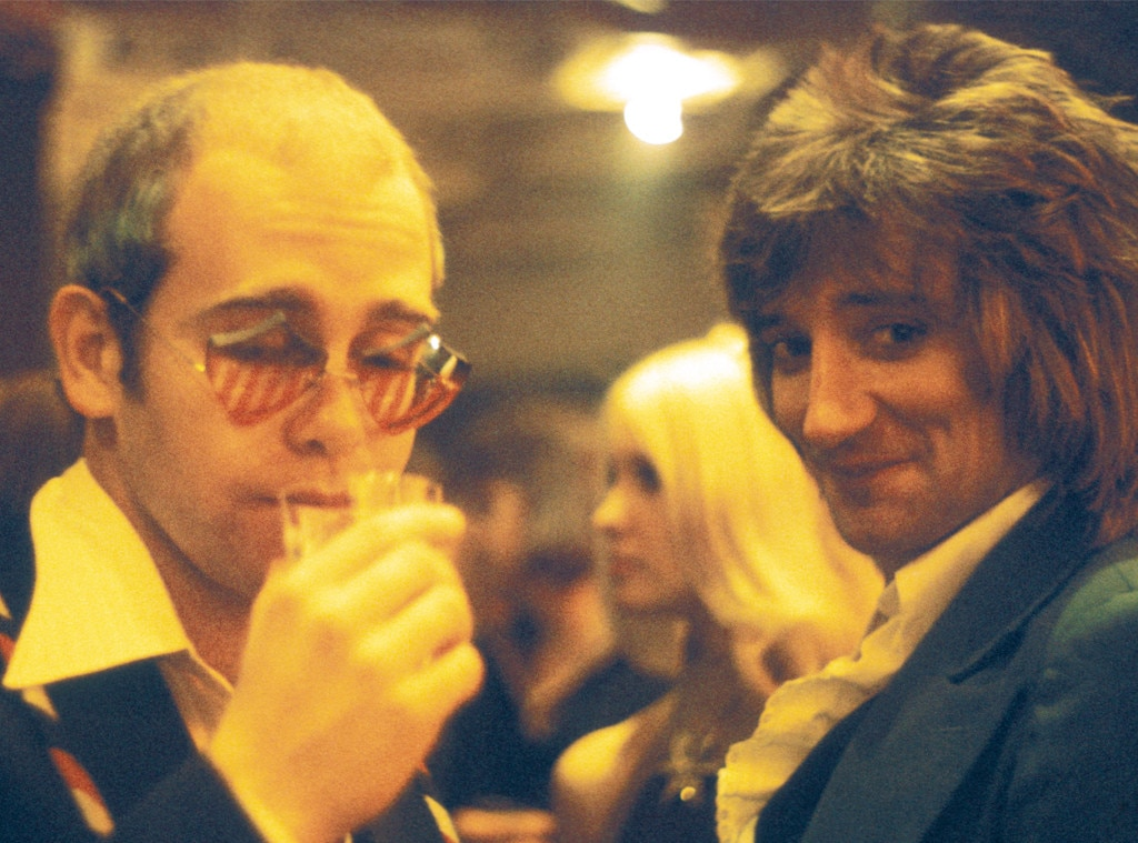 Rocketman fact vs. fiction, Elton John and Rod Stewart