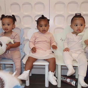 Chicago West, True Thompson, Stormi Webster