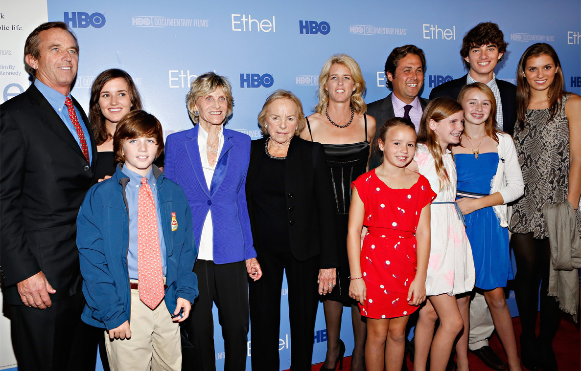 Robert Kennedy Jr., Conor Kennedy, Ethel Kennedy, Rory Kennedy, Ethel Premiere