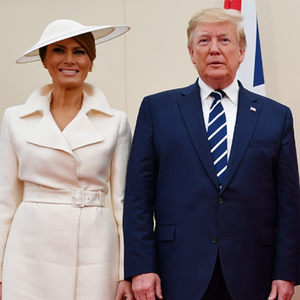 Trump compares first lady 'Melania T' to 'Jackie O'