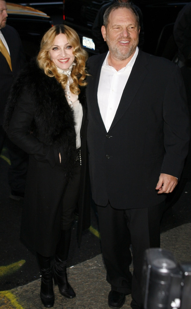 Madonna, Harvey Weinstein