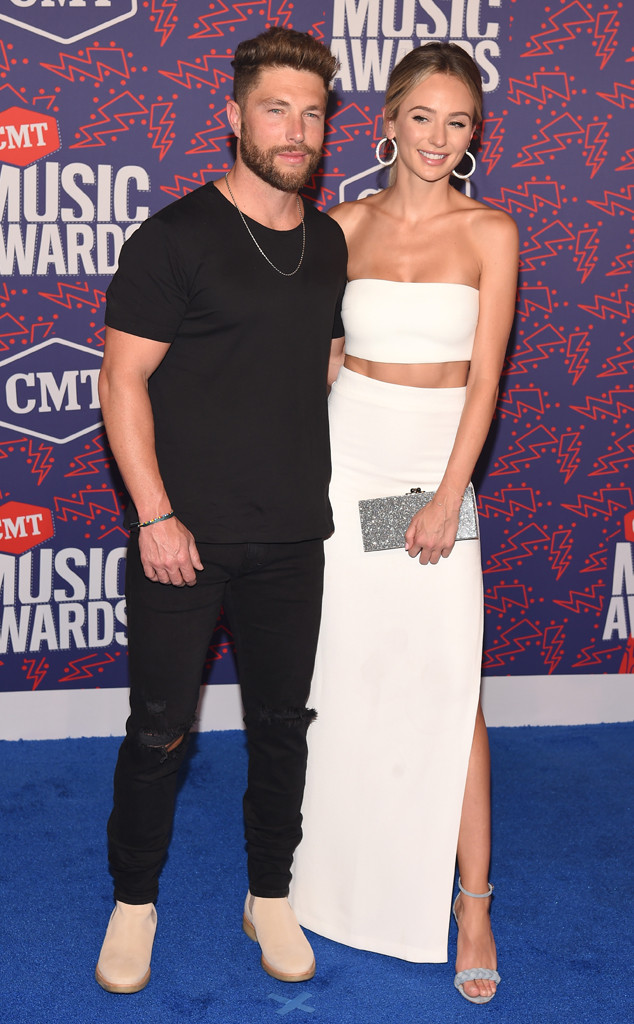 Chris Lane, Lauren Bushnell, 2019 CMT Music Awards