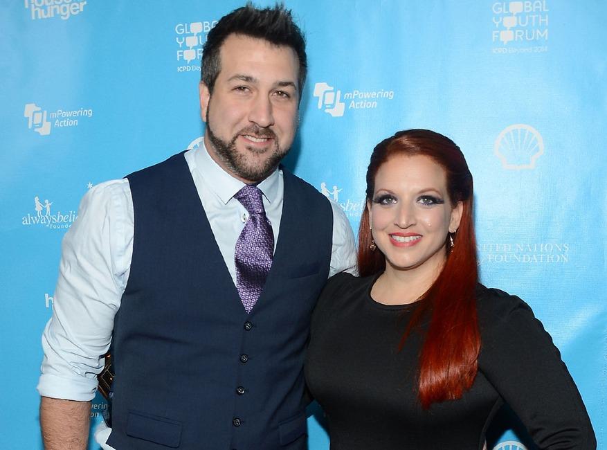 Joey Fatone, Kelly Baldwin