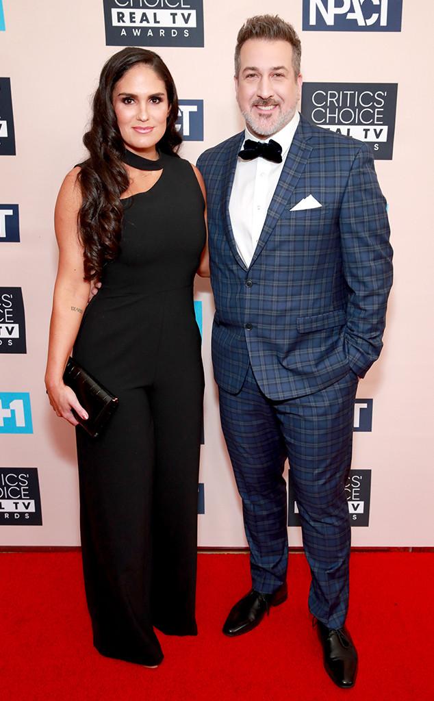Joey Fatone, Izabel Araujo, Critics' Choice Real TV Awards