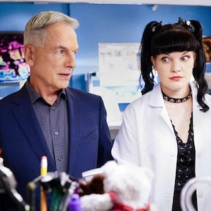 Pauley Perrette, Mark Harmon, NCIS