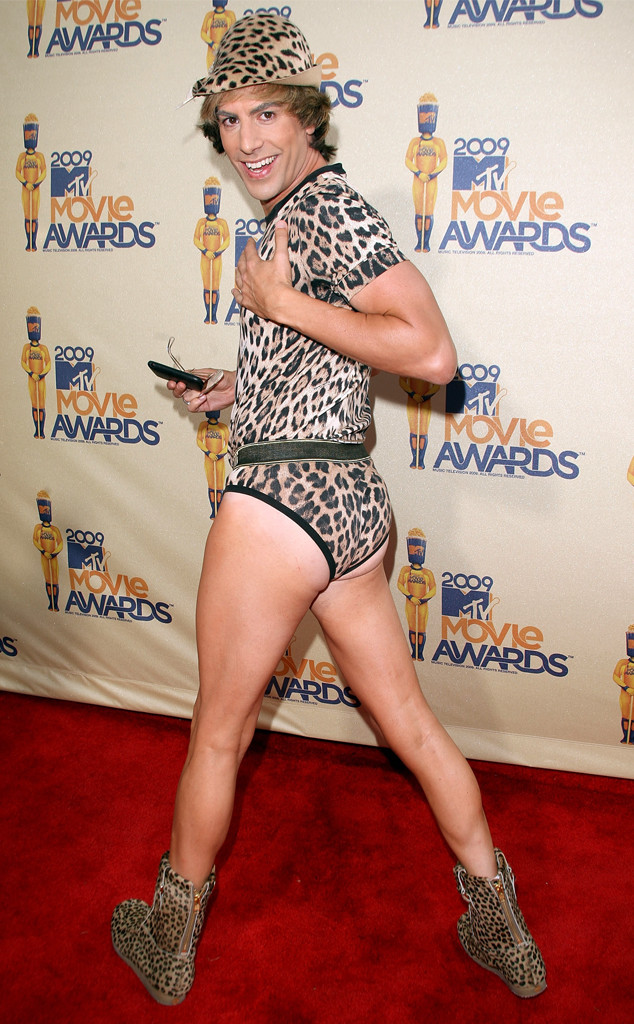 Sacha Baron Cohen, 2009 MTV Movie Awards