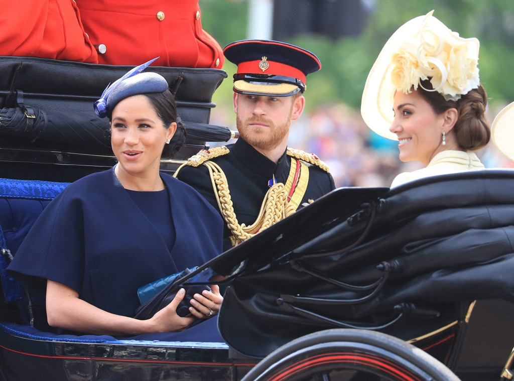 Trooping the Colour 2019, Meghan Markle, Prince Harry, Kate Middleton