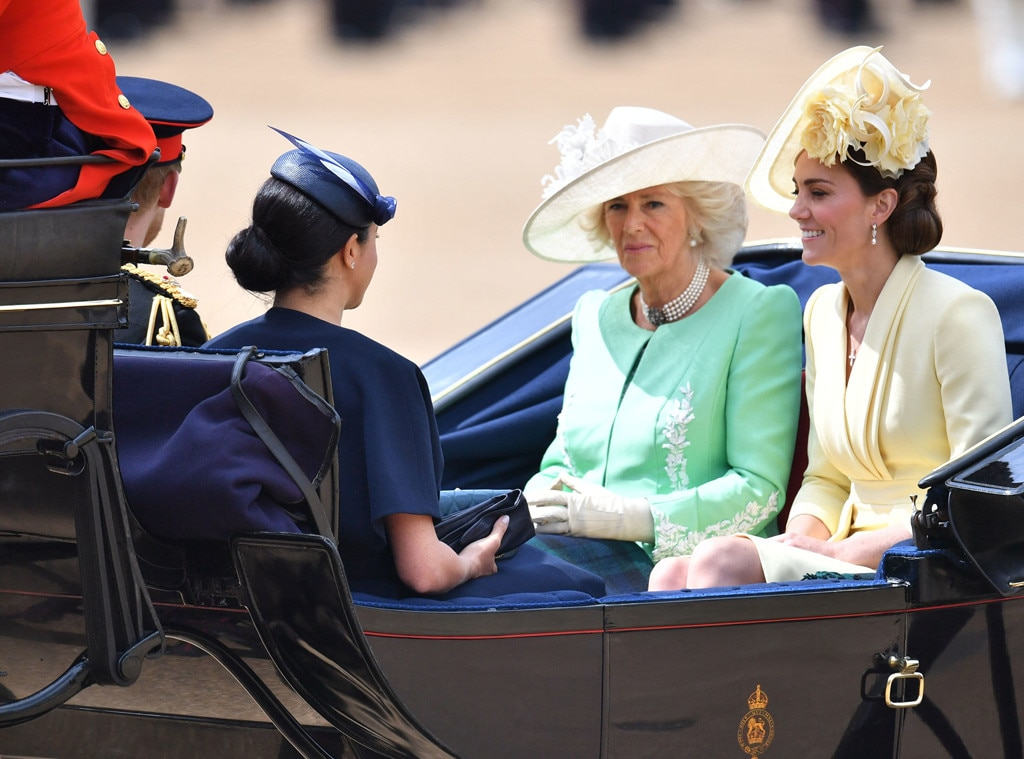 Meghan Markle, Prince Harry, Kate Middleton and Camilla