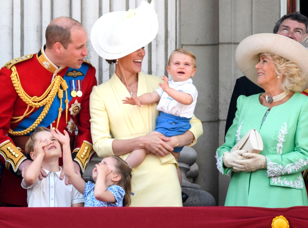 Queen Elizabeth II from Royal Family at Trooping the Colour