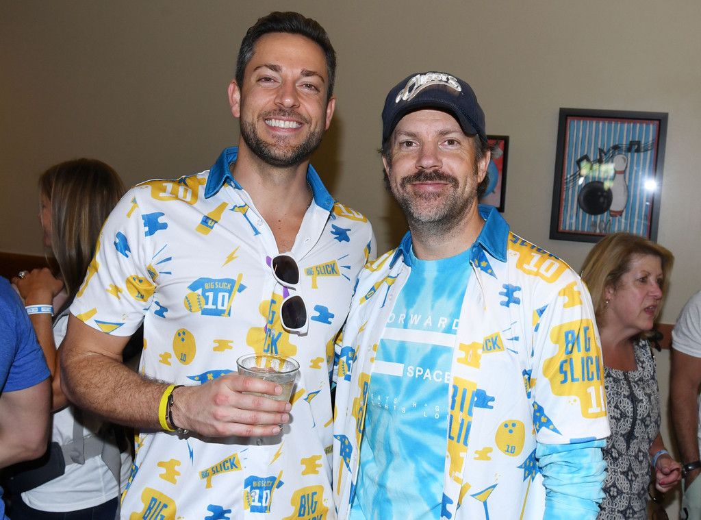 Zachary Levi, Jason Sudeikis, Big Slick Celebrity Weekend