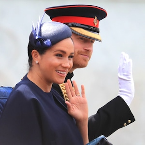 Trooping the Colour 2019, Prince Harry, Meghan Markle