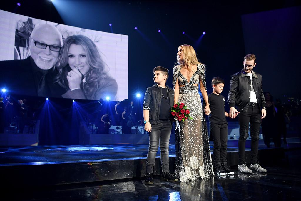 Celine Dion, Sons, Las Vegas, Rene Angelil, Tribute