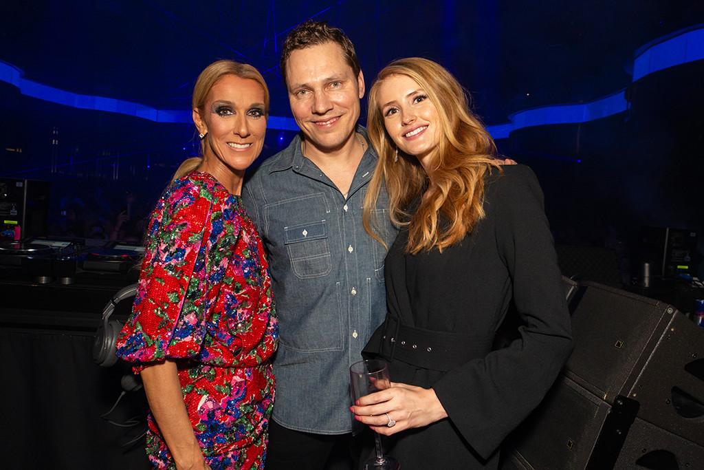 Celine Dion, Tiesto, OMNIA Nightclub, Las Vegas
