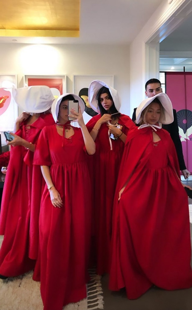 Kylie Jenner, Handmaids Tale Party