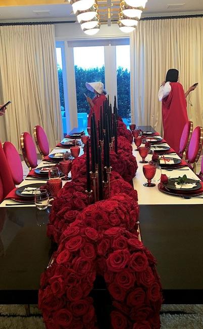 Sofia Richie, Kylie Jenner, Handmaid's Tale Party