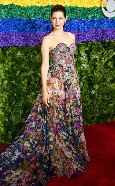 Marisa Tomei, 2019 Tony Awards, Red Carpet Fashions