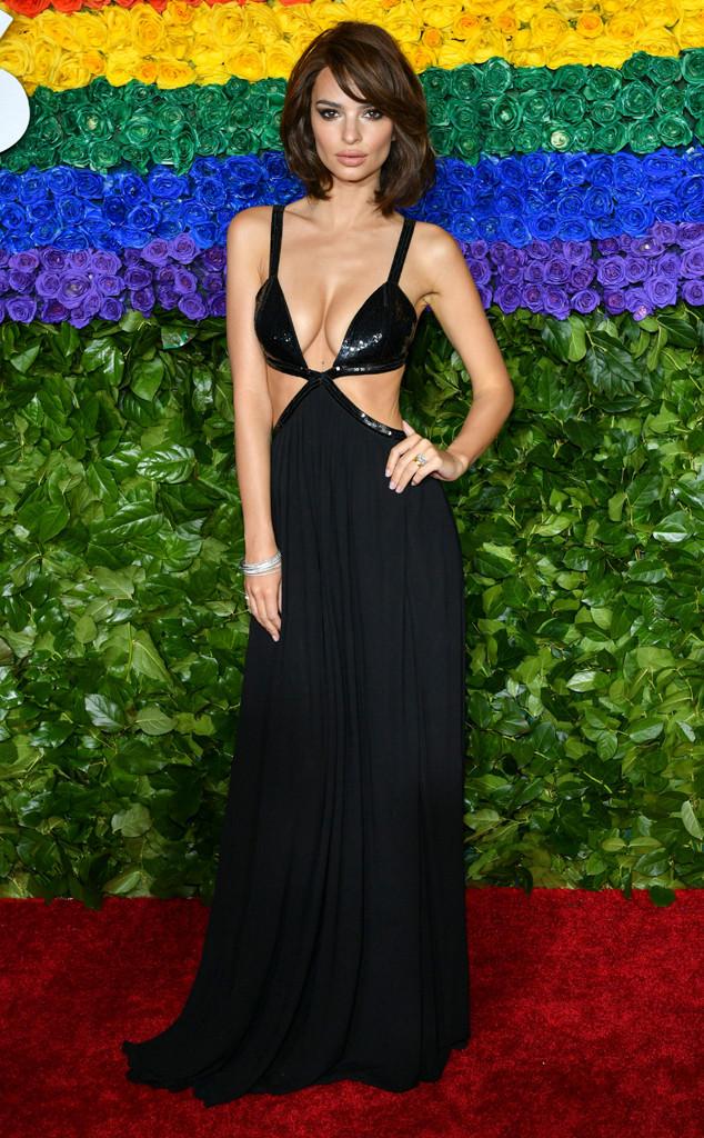 Emily Ratajkowski, 2019 Tony Awards, Red Carpet Fashions
