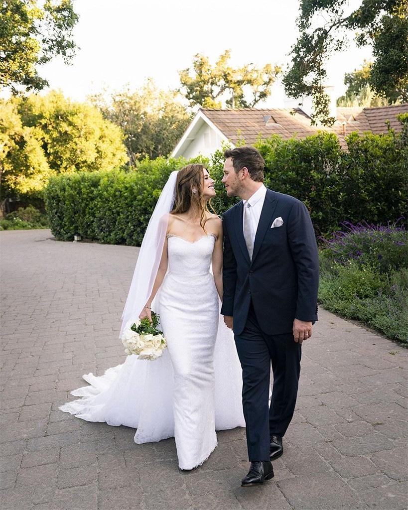 Chris Pratt, Katherine Schwarzenegger, Wedding