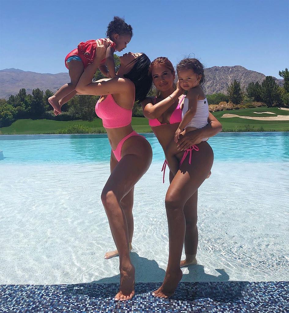 Kylie Jenner, Stormi Webster, Yris Palmer, Ayla