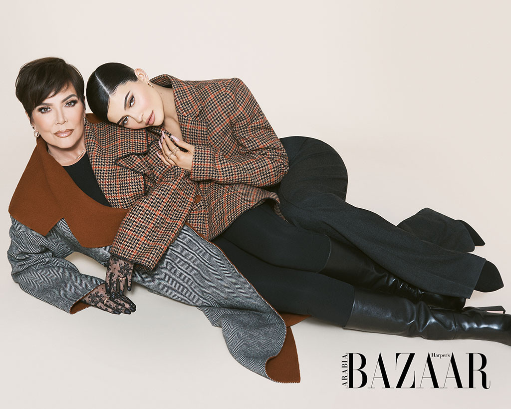 Kylie Jenner, Kris Jenner, Harper's Bazaar Arabia, July/August 2019