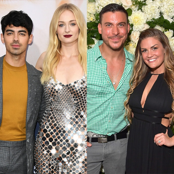 a8c4cc8c6f9 A Tale of 2 Weddings: Breaking Down Joe Jonas and Sophie Turner's and Jax  Taylor and Brittany Cartwright's Big Days | E! News Canada