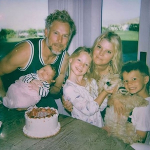 Jessica Simpson, Eric Johnson, Kids