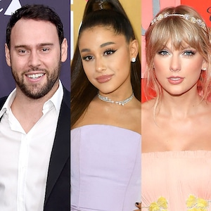 Scooter Braun, Ariana Grande, Taylor Swift