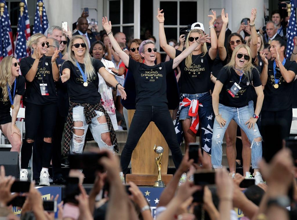 U.S. Women's Soccer Team, Ticker Tape Parade